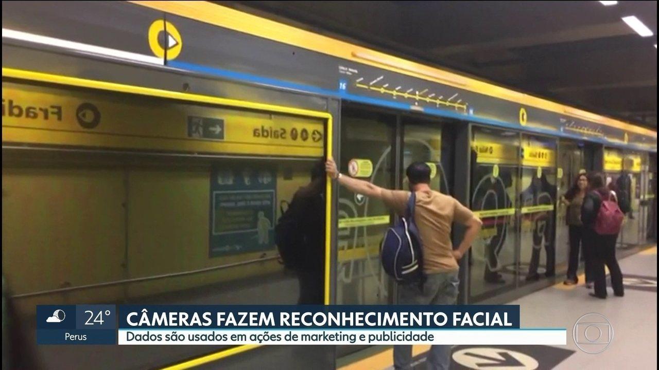 metro reconhecimento facial