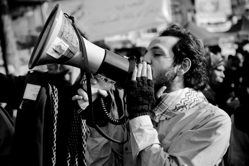 activists in Tahrir Square