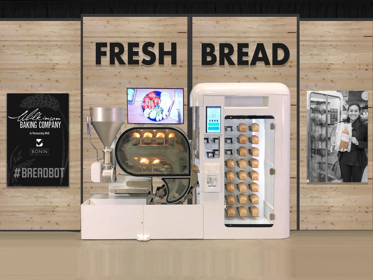 Robô faz pão de modo independente