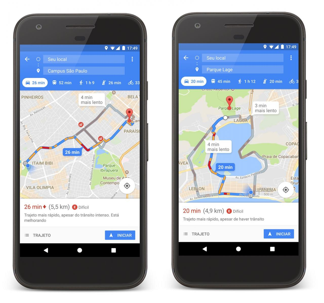 Waze e Google Maps são obrigados a mostrar locais perigosos no Rio de Janeiro