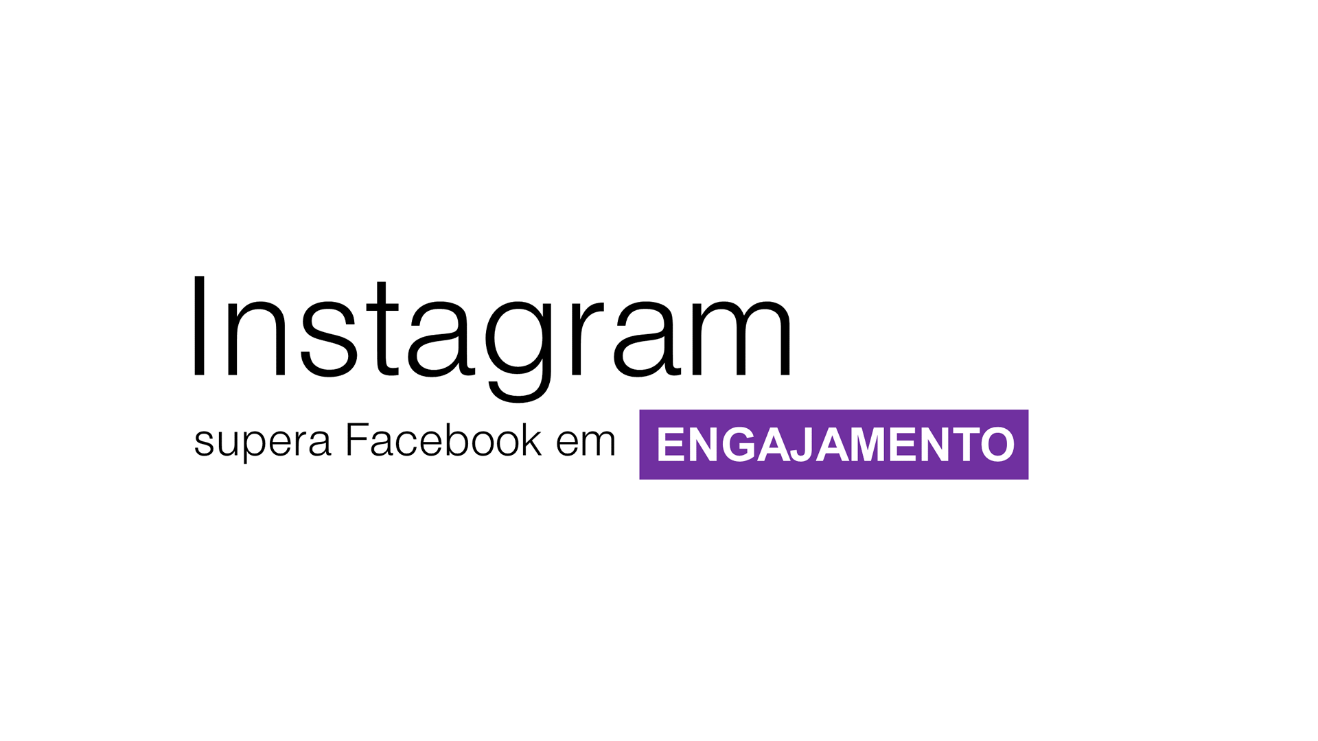 Instagram supera Facebook em engajamento